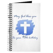 Christian 90th Birthday Journal