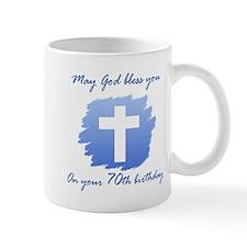 Christian 70th Birthday Mug