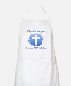 Christian 60th Birthday Apron
