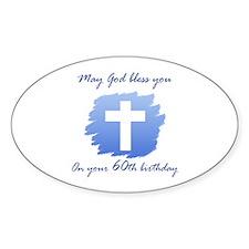 Christian 60th Birthday Decal