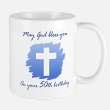 Christian 50th Birthday Mug