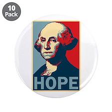 "George Washington HOPE 3.5"" Button (10 pack)"