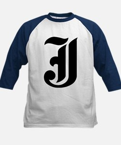 """Letter """"J"""" (Gothic Initial) Tee"""