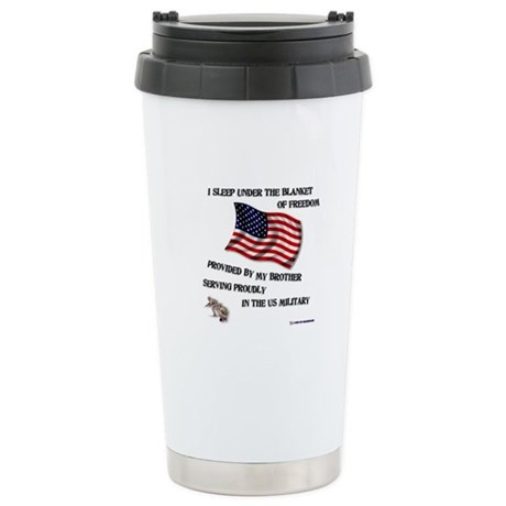 Blanket of Freedom Brother Stainless Steel Travel