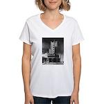 Tower Theatre Women's V-Neck T-Shirt