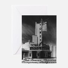 Tower Theatre Greeting Card