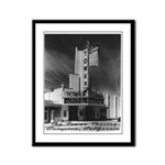 Tower Theatre Framed Panel Print