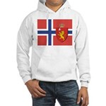 Norway Flag / Norwegian Flag Hooded Sweatshirt