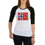 Norway Flag / Norwegian Flag Jr. Raglan