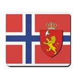 Norway Flag / Norwegian Flag Mousepad