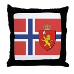 Norway Flag / Norwegian Flag Throw Pillow