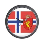 Norway Flag / Norwegian Flag Wall Clock
