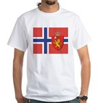 Norway Flag / Norwegian Flag White T-Shirt