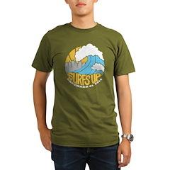 Surf's Up Organic Men's T-Shirt (dark)