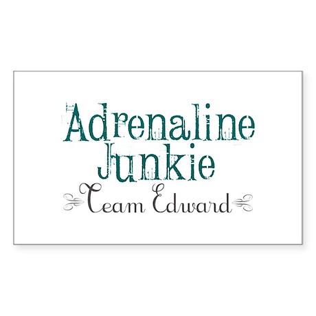 Adrenaline Junkie Sticker (Rectangle)