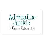 Adrenaline Junkie Sticker (Rectangle 50 pk)