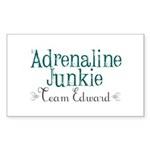 Adrenaline Junkie Sticker (Rectangle 10 pk)