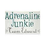 Adrenaline Junkie Rectangle Magnet (10 pack)
