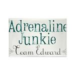 Adrenaline Junkie Rectangle Magnet