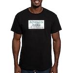 Adrenaline Junkie Men's Fitted T-Shirt (dark)