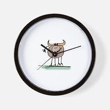 JennStapp Steer Wall Clock