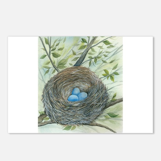 Robin's Nest Postcards (Package of 8)