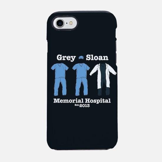 Grey Sloan Hospital Est.2013 iPhone 7 Tough Case