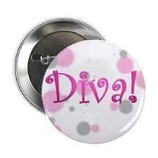 """Diva 2.25"""" Button (10 pack)"""
