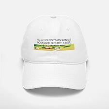 Country Man Slogan Baseball Baseball Cap