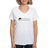 Lactivist Womens V-Neck T-shirts