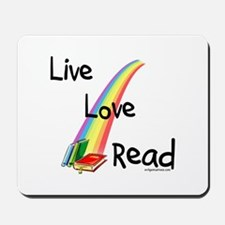 live, love, read Mousepad
