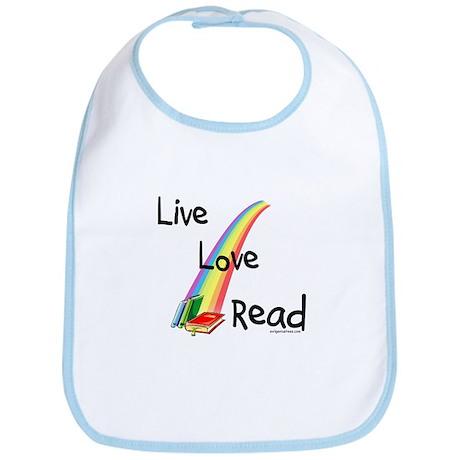 live, love, read Bib