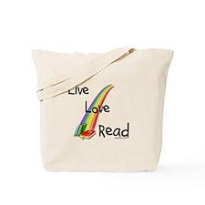 live, love, read Tote Bag