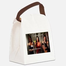 Vermillion Salon Canvas Lunch Bag