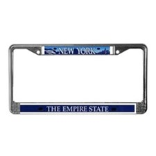 New York/Empire State License Plate Frame