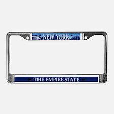 New York/Empire State License Plate Frame