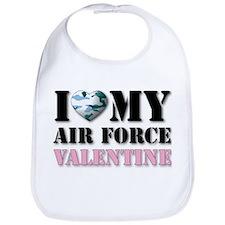 Air Force Valentine Bib