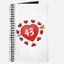 43rd Valentine Journal