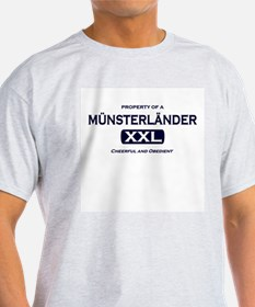 Property of Munsterlander Grey T-Shirt