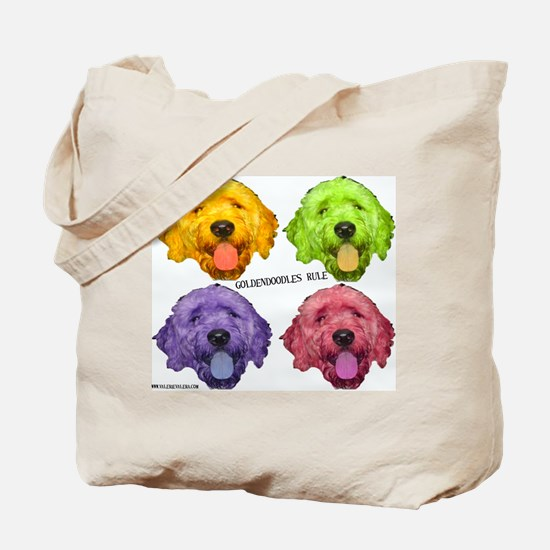Goldendoodles Rule Tote Bag