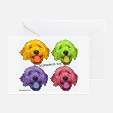 Goldendoodles Rule Greeting Cards (Pk of 10)