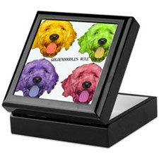 Goldendoodles Rule Keepsake Box