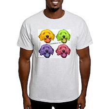 Goldendoodles Rule Ash Grey T-Shirt