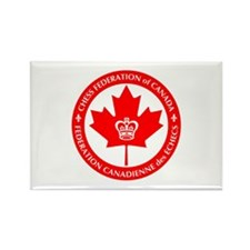Chess Federation of Canada Rectangle Magnet