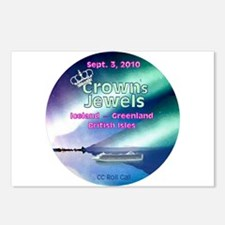 Crown's Jewels 2010 Postcards (Package of 8)