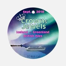 Crown's Jewels 2010 Ornament (Round)