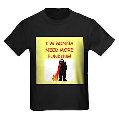 funny biology joke Kids Dark T-Shirt