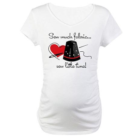 Sew Much Fabric Maternity T-Shirt