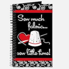 Sew Much Fabric Journal