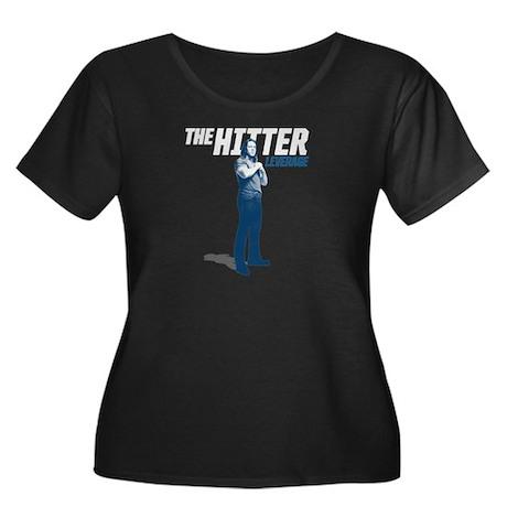 Leverage Hitter Women's Plus Size Scoop Neck Dark